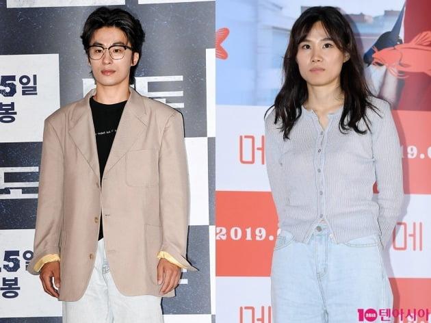 배우 구교환(왼쪽), 이옥섭 감독 / 사진=텐아시아DB