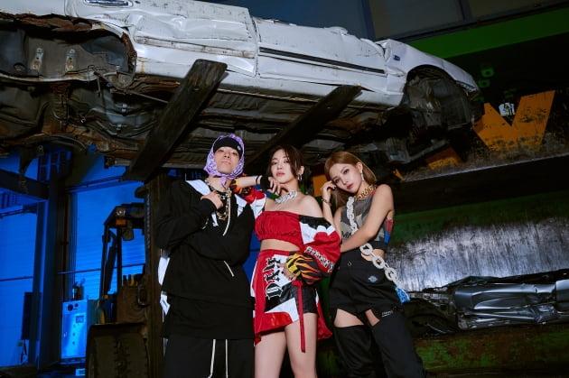 래퍼 루피(왼쪽부터), HYO, (여자)아이들 소연 / 사진제공=SM엔터테인먼트
