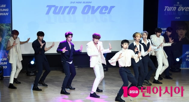 [TEN 포토] 원더나인 '타이틀곡 '배드 가이'로 컴백'