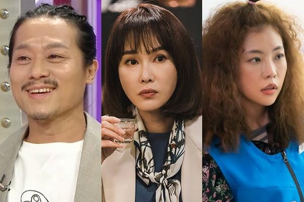배우 임기홍(왼쪽부터), 백주희, 서예화/ 사진=MBC, KBS, SBS 제공