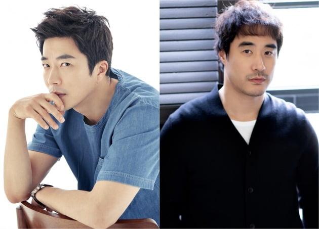배우 권상우(왼쪽), 배성우 / 사진제공=수컴퍼니, 아티스트컴퍼니