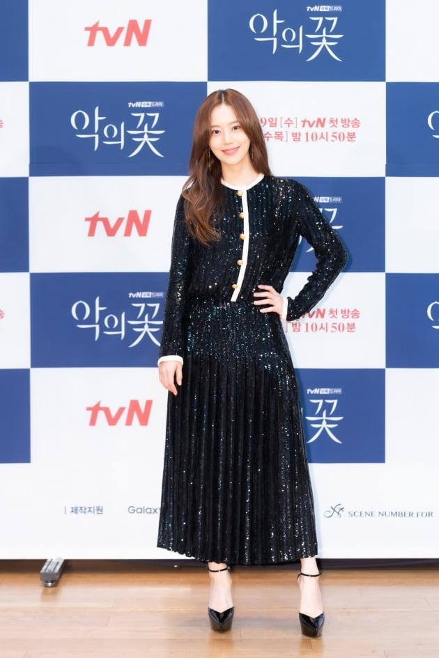 '악의꽃' 배우 문채원/ 사진=tvN 제공