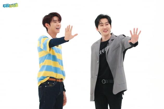 '주간아이돌' MC 광희(왼쪽), 은혁/ 사진=MBC 에브리원 제공