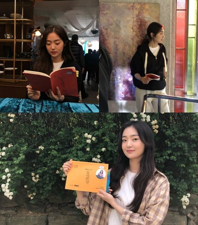 MBC 수목드라마 '십시일반'에 출연 중인 배우 김혜준. /사진제공=앤드마크