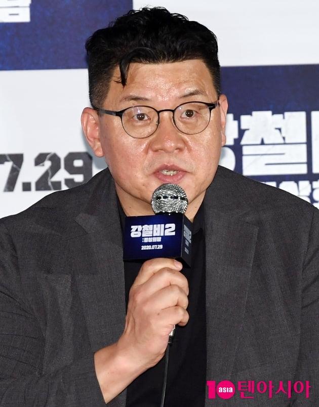 """[TEN 포토] 양우석 감독  """"강철비2 평화체제에 대해 시물레리션을 했다"""""""