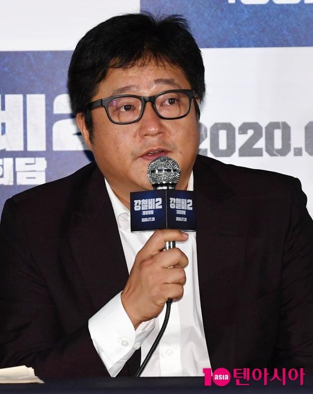 "[TEN 포토] 곽도원 ""악역보다 뜻이다른 인물을 표현하고 싶었다""(강철비2)"