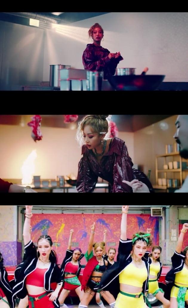 제시 '눈누난나' 뮤직비디오 / 사진 = 피네이션 제공