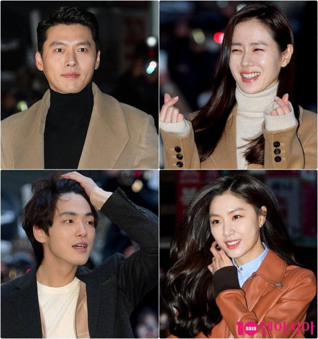 '사랑의 불시착' 주연 배우들/ 사진=텐아시아DB