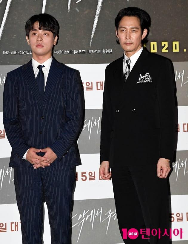 [TEN 포토] 박정민-이정재 '기대되는 연기조합'