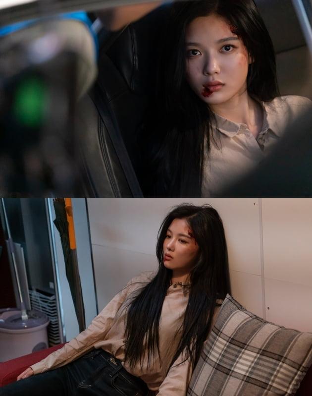 '편의점 샛별이' 속 김유정/ 사진=SBS 제공