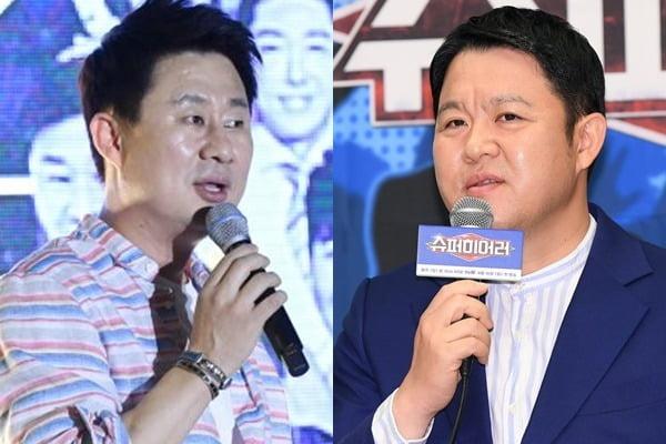 개그맨 남희석(왼쪽)과 김구라/ 사진= 텐아시아DB