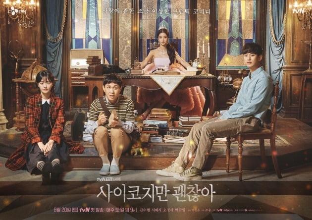 '사이코지만 괜찮아' 포스터./사진제공=tvN