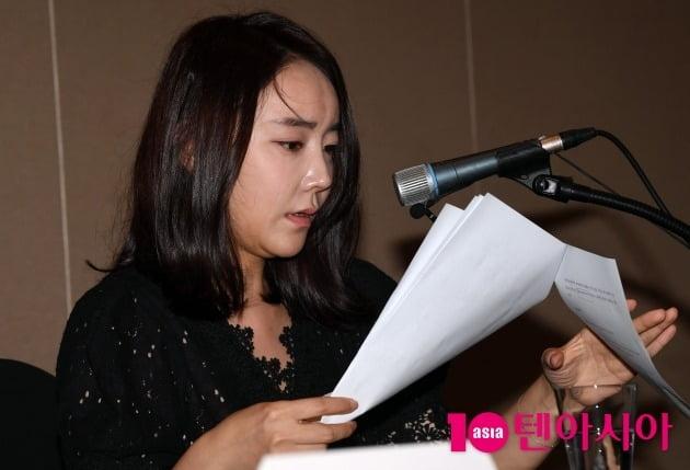 [TEN 포토] '골프장 갑질논란' 박수인 '최초 언론사 공식적인 사과요청'