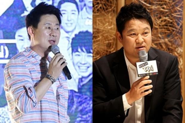 개그맨 남희석(왼쪽)과 김구라/ 사진=텐아시아DB