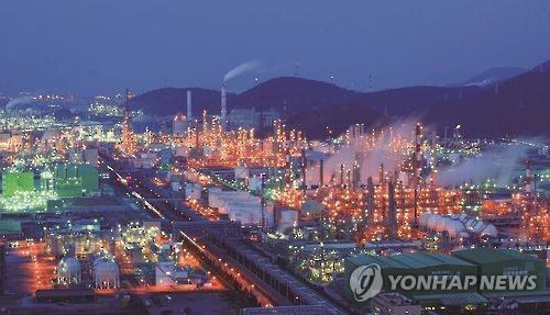 여수산단 석유화학업종 3분기 체감경기 '먹구름'