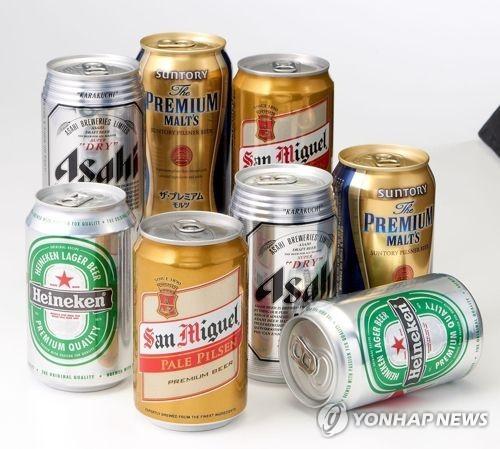 맥주 수입 10년 만에 감소…위스키 수입도 줄어