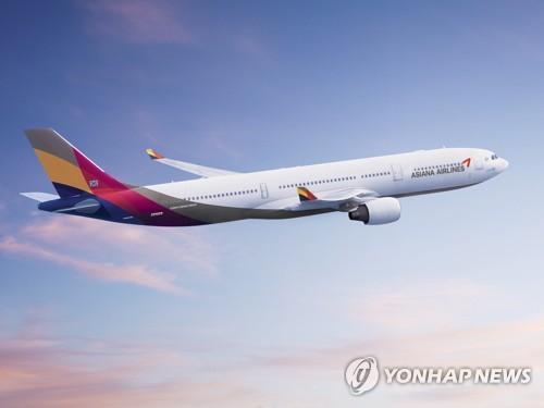 한중 항공노선 첫 재개…아시아나, 12일부터 인천∼난징 운항(종합2보)