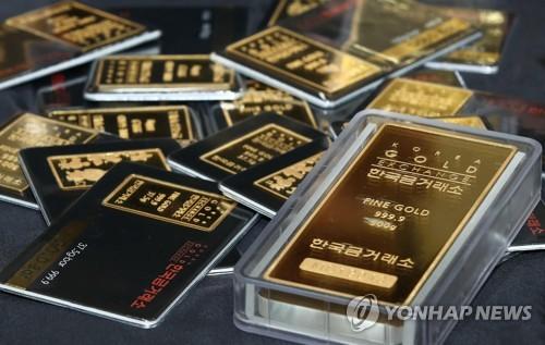 코로나19에 금 투자자 웃었다…올해 수익률 예금의 29배