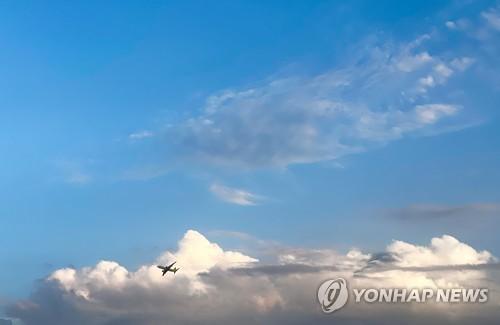 경남 구름 많고 일부 지역 비…미세먼지 농도 '좋음'