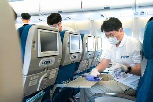 """""""항공 여행 안심하세요""""…항공업계, 코로나 불안감 해소 나섰다"""