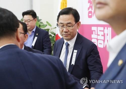 """민주, 주호영 '세월호 비유'에 """"일관된 막말에 참담"""""""