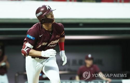김하성·이정후 3타점씩 폭발…키움, kt에 역전승