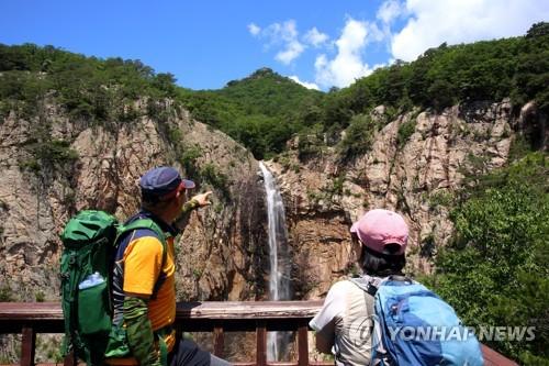[카메라뉴스] 기록적 폭우가 선물한 설악산 대승폭포의 절경