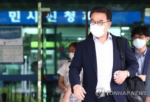 '고영주 전 방문진 이사장 모욕' 송일준 광주MBC 사장 선고유예