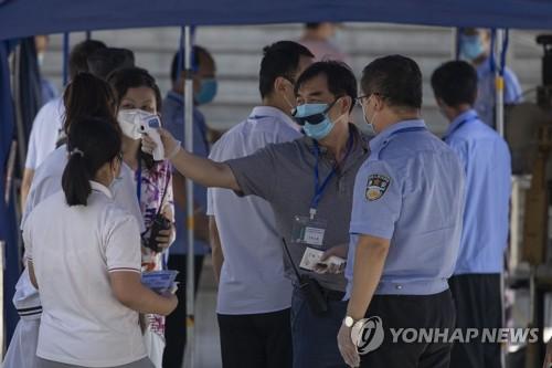 중국 대입시험 속 베이징 코로나19 사흘째 신규 확진'0'