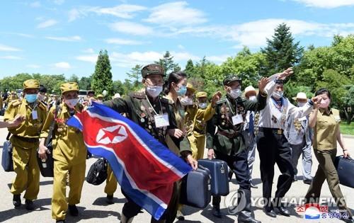 """북한, 노병대회로 체제 결속…""""청년들, 선열 피땀 되새기라"""""""