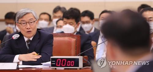"""감사원장, '대통령 득표율 41%' 발언에 """"폄훼 아냐"""""""
