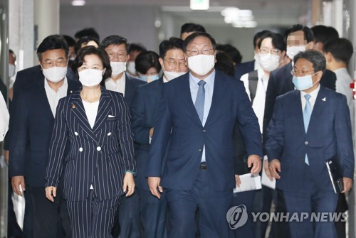 """당정 """"국정원→대외안보정보원, 檢수사 6대범죄 한정""""(종합)"""