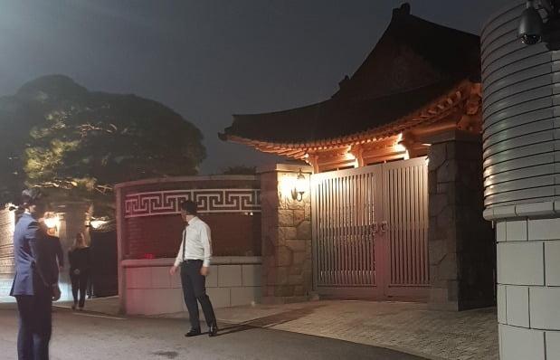 2019년 6월 삼성그룹 승지원에서는 무함마드 빈 살만 사우디아라비아 왕세자와 국내 5대 그룹 총수들의 돌발 간담회가 열렸다. 사진=연합뉴스
