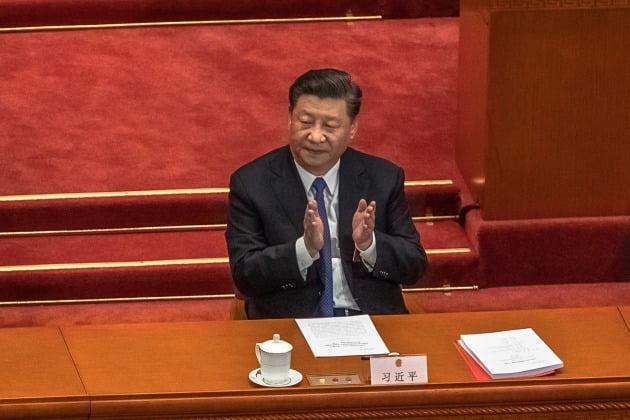 1일 관영 중앙(CC)TV에 따르면, 장샤오밍 홍콩·마카오 사무판공실 부주임은 기자회견을 통해 홍콩보안법은 일국양제(一國兩制·한 국가 두 체제)를 개선하기 위한 중요한 이정표라고 주장했다. 사진=EPA