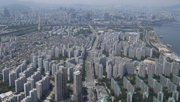 서울 잠실 일대 아파트 단지의 모습. 연합뉴스