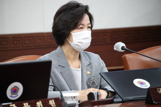 추미애 법무부 장관 ./사진=연합뉴스