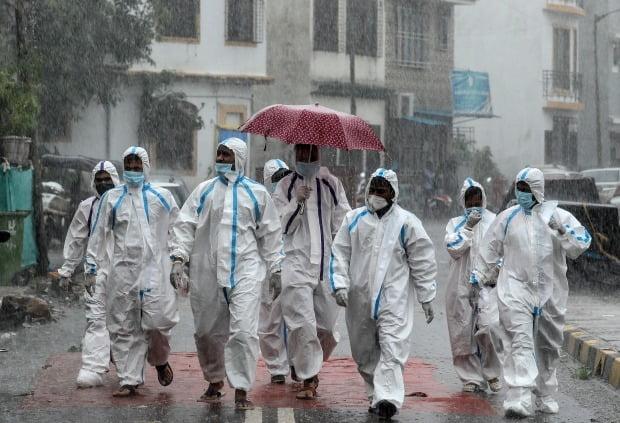 인도가 신종 코로나바이러스 감염증(코로나19) 누적 확진자 수 세계 3위 국가가 됐다./사진=EPA