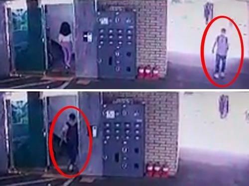 경기도 부천시에서 대낮에 빌라 들어가는 주민 따라가 성추행한 40대 남성이 경찰에 붙잡혔다. 사진은 CCTV에 포착된 성추행범 모습. /사진=연합뉴스