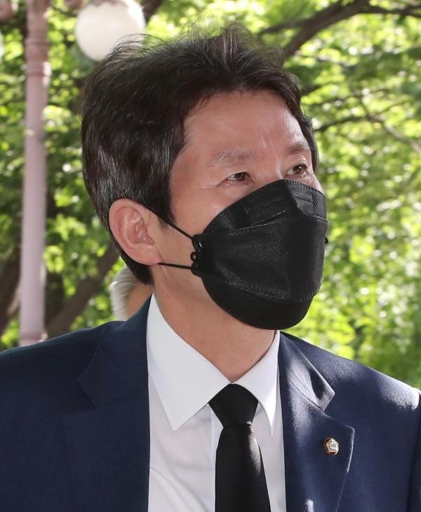 이인영, 고 박원순 서울시장 빈소 조문. 사진=연합뉴스