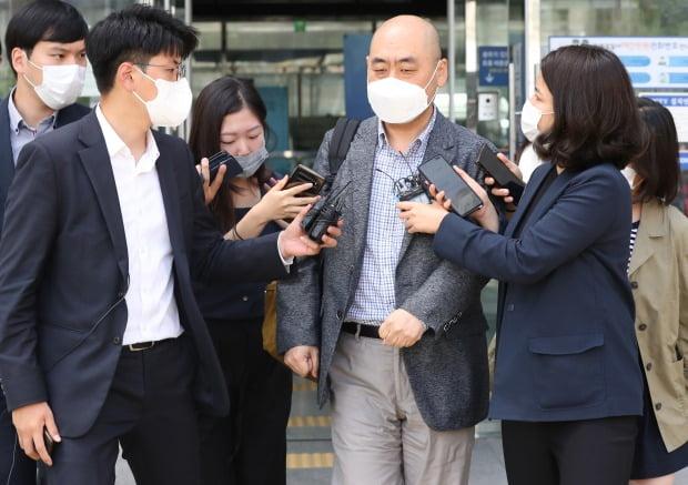 고한석 전 비서실장은 지난 15일 서울 성북경찰서에서 박원순 전 시장 사망 관련 참고인 조사를 받았다. / 사진=연합뉴스