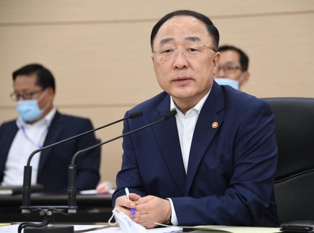 홍남기 경제부총리 겸 기획재정부 장관(사진=연합뉴스)