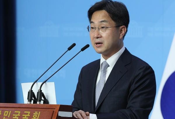 박성준 더불어민주당 원내대변인. 뉴스1