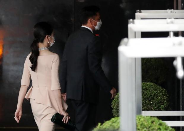 노현정, 정기선 부사장 결혼식 참석/사진=뉴스1