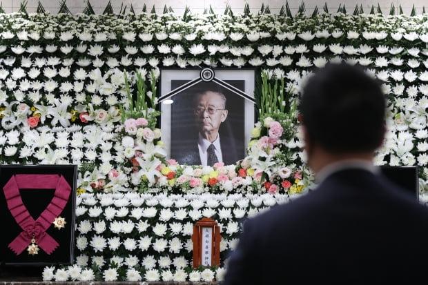 6·25 한국전쟁의 '영웅'으로 불리는 백선엽 장군이 지난 10일 향년 100세로 별세했다. 지난 11일 오후 서울아산병원 장례식장. 사진=뉴스1
