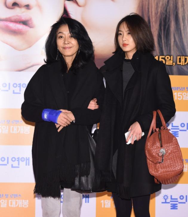 김부선과 이미소 모녀 /사진=한경DB