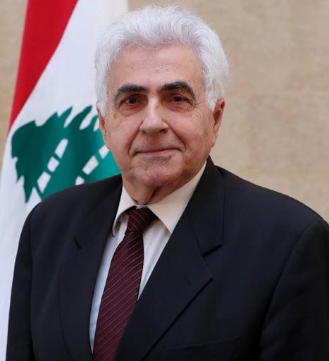 레바논정부 홈페이지 캡쳐