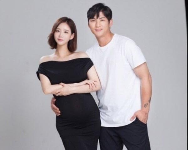 김영은 씨와 오지환 선수/사진=김영은 인스타그램 캡처