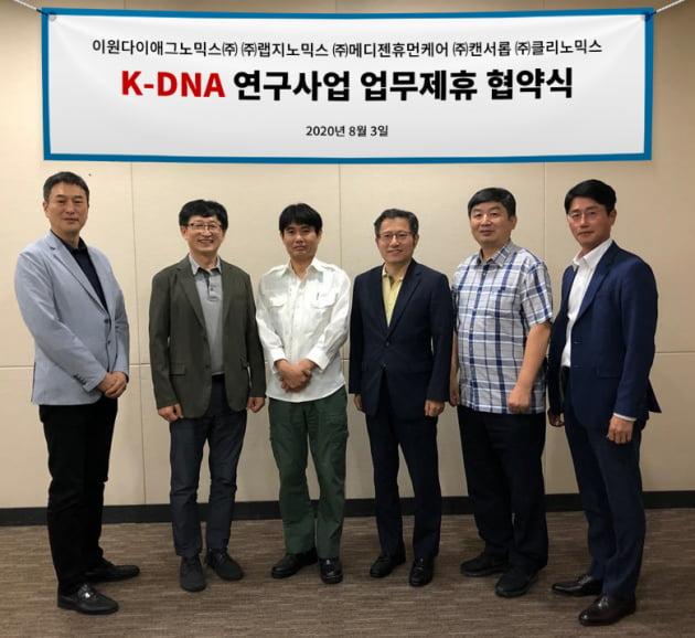 클리노믹스 등 5개社, K-DNA 참여 위한 컨소시엄 구성