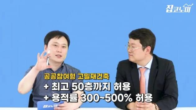 """[집코노미TV] """"50층 재건축 5만 가구는 가상의 숫자"""""""