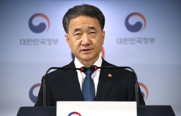 박능후 보건복지부 장관이 의과대학 정원 확대와 관련해 대국민 담화를 발표하고 있다. 사진=연합뉴스